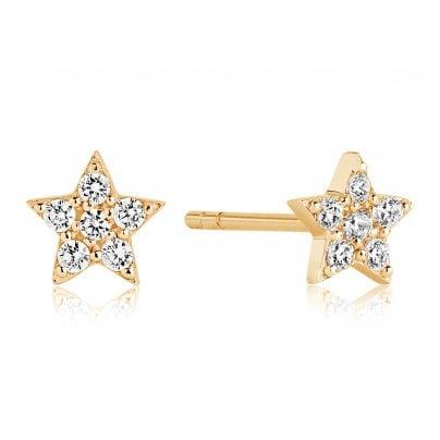 Sif Jakobs Jewellery SJ-E2947-CZ(YG) Silber Damenohrringe Mira Vergoldet 5710698063762