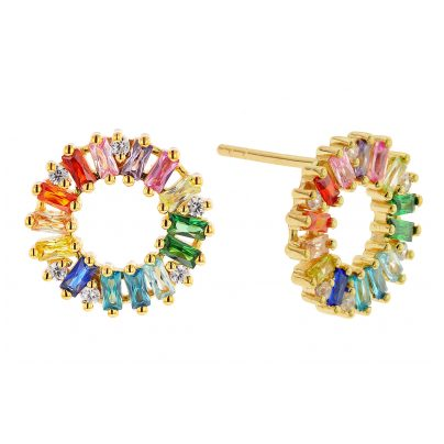 Sif Jakobs Jewellery SJ-E0324-XCZ(YG) Damen-Ohrringe Antella Circolo 5710698065926