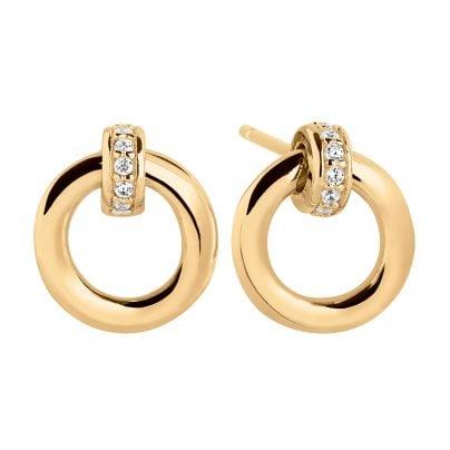Sif Jakobs Jewellery SJ-E0057-CZ-YG Ladies' Stud Earrings Itri Piccolo 5710698067418