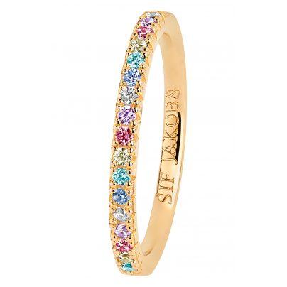 Sif Jakobs Jewellery SJ-R2869-XCZ(YG) Damenring Ellera