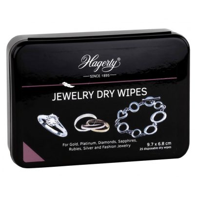Hagerty A116339 Jewelry Dry Wipes 25 pieces 7610928262416