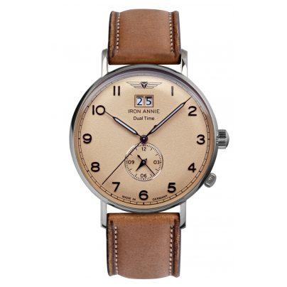Iron Annie 5940-3 Men's Watch Amazonas Dual Time 4041338594034