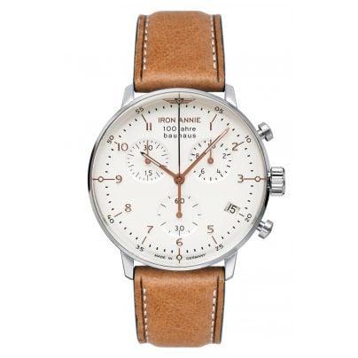 Iron Annie 5096-4 Men's Watch Chronograph 100 Jahre Bauhaus 4041338509649