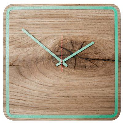Huamet U5300 Wood Wall Clock Oak Alone 4260497085812