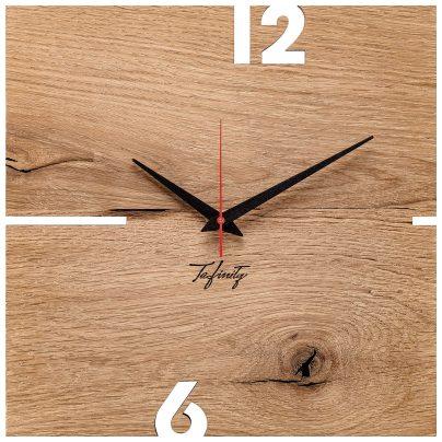 Huamet CT51-A-00 Wall Clock Puhr Oak Wood 4260497088707