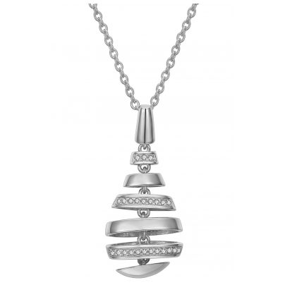 IUN Silver Couture PS01330A1-WW Collier New Wave Silber 925 Zirkonia 4260626560234