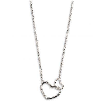 Xenox XS1758 Silber Damen-Collier Heart Beat 9010050050758