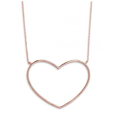 Xenox XS1767R Damen-Collier Heart Beat Rosé 9010050056385
