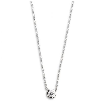 Xenox XS7385 Ladies' Necklace Silver Circle Z 9010050048663