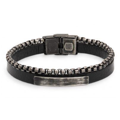 Xenox X4524 Herren-Armband Leather & More 9010050055333