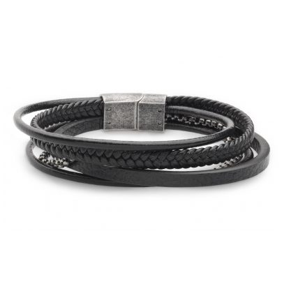 Xenox X4526 Herren-Armband Leather & More 9010050055319