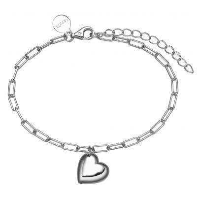 Xenox XS1938 Silber Damen-Armband mit Herz Delight 9010050063512