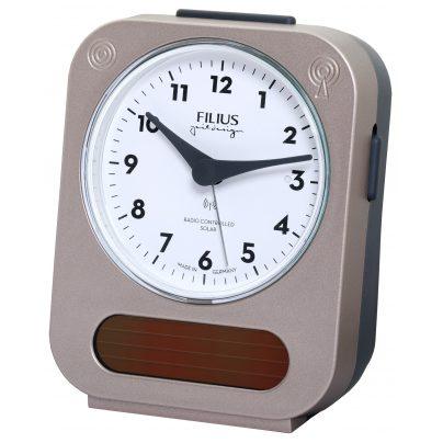 Filius 0543-18 Solar Radio-Controlled Alarm Clock 4045346111429