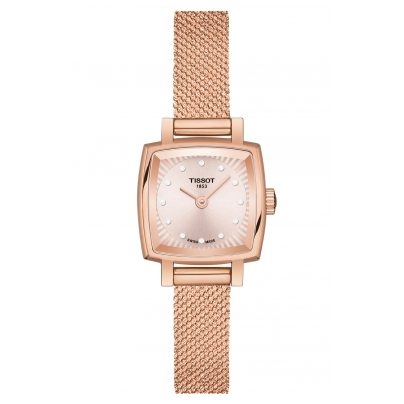 Tissot T058.109.33.456.00 Damen-Armbanduhr Lovely Square 7611608288320