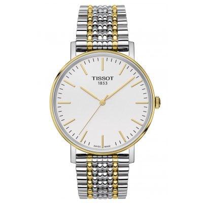 Tissot T109.410.22.031.00 Armbanduhr Everytime Quarz Bicolor 7611608278598