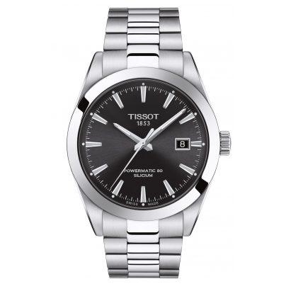 Tissot T127.407.11.051.00 Herren-Armbanduhr Gentleman Powermatic 80 Silicium 7611608292709