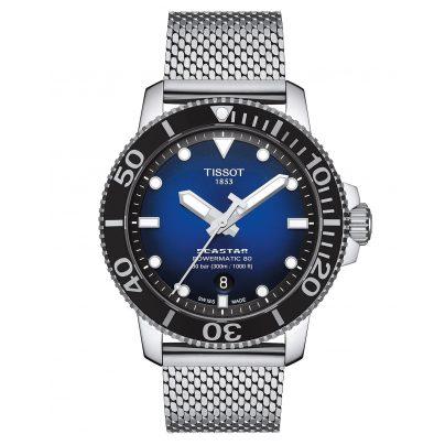 Tissot T120.407.11.041.02 Herren-Taucheruhr Seastar 1000 Powermatic 80 Blau 7611608294970