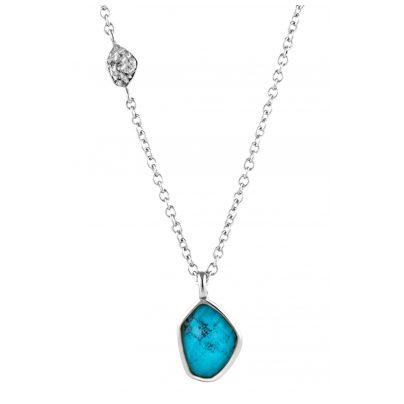 Ania Haie N014-02H Damen-Halskette Silber 925 Turquoise 5052469000430