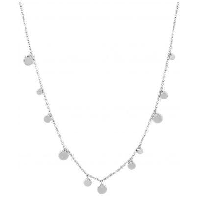 Ania Haie N005-01H Damen-Halskette Silber 925 Geometry Mixed Discs 5052469201448