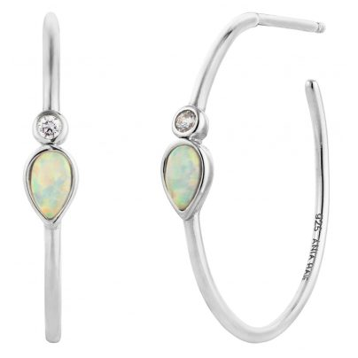 Ania Haie E014-04H Damen-Ohrringe Opal Colour Raindrop 5052469000379