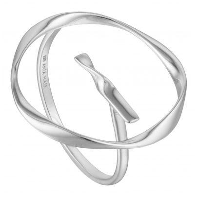 Ania Haie R015-01H Silver Ladies´ Ring Twist Circle 5052469000676