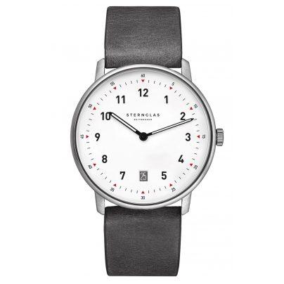 Sternglas STR01/311 Quarz-Armbanduhr Tero Limited Edition Grau / Weiß 4260493153966