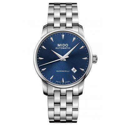 Mido M8600.4.15.1 Herren-Automatikuhr Baroncelli Midnight Blue Gent 7612330137320