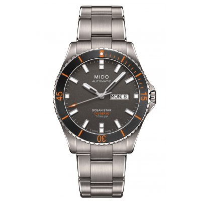 Mido M026.430.44.061.00 Men's Automatic Watch Ocean Star Titanium 7612330132523