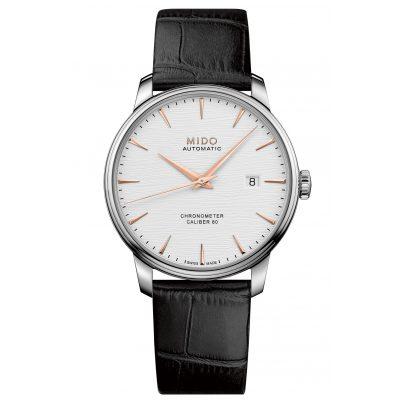 Mido M027.408.16.031.00 Herren-Automatikuhr Baroncelli Chronometer Silizium 7612330137696