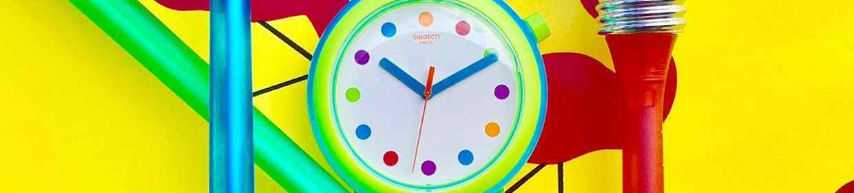 Kunststoffglas Uhren