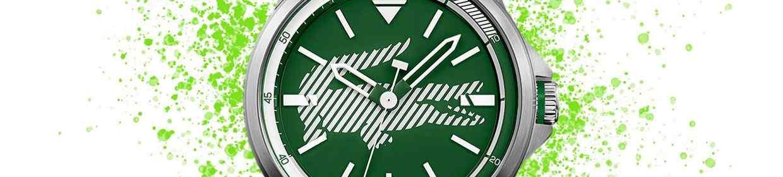 Grüne Uhren