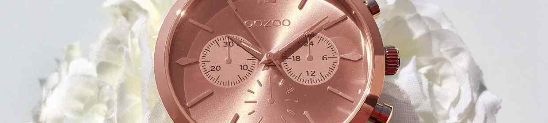 Roségoldfarbene Uhren