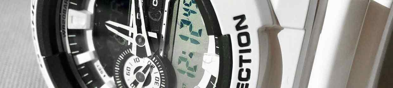Weiße Uhren
