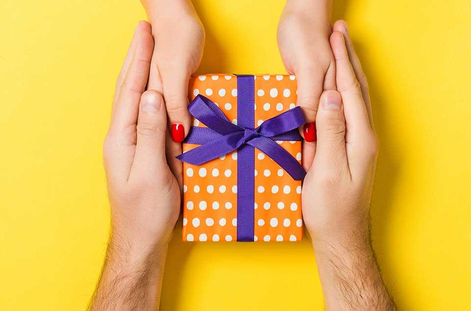 Geschenke zum Jahrestag