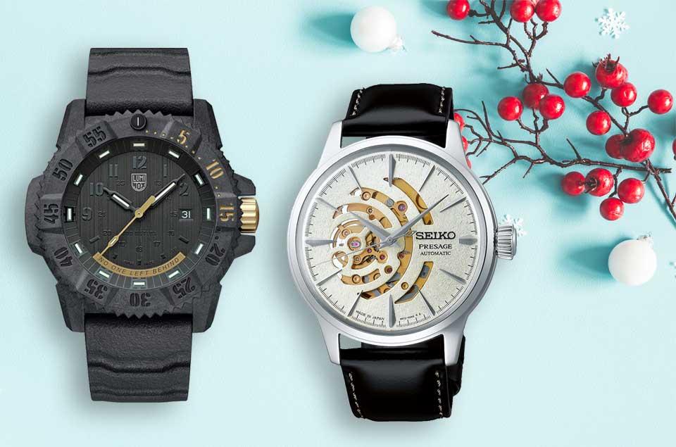 Limitierte Uhren zu Weihnachten