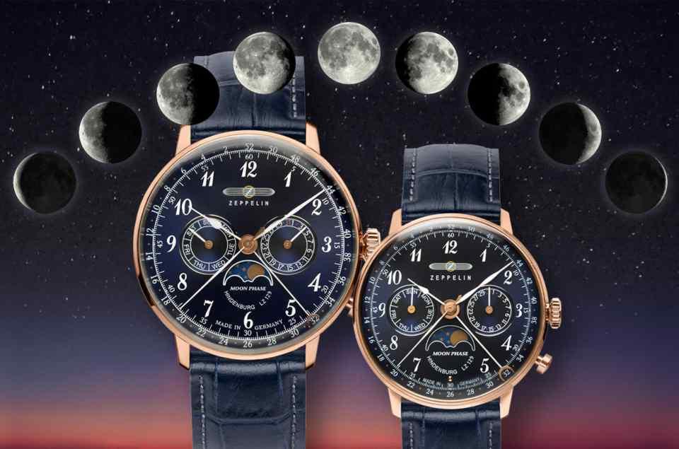Mondphasenuhren