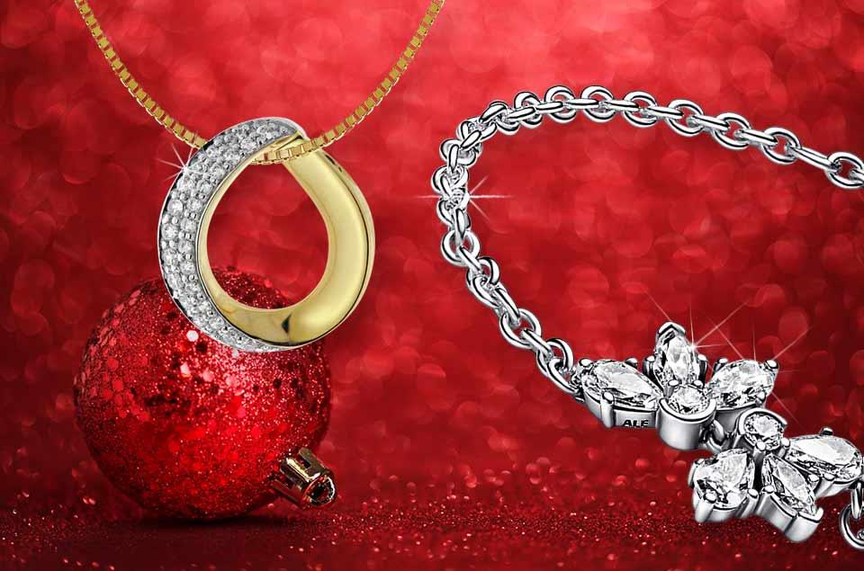 Silber und Gold zu Weihnachten