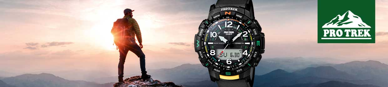 Casio Pro Trek Outdoor Uhren
