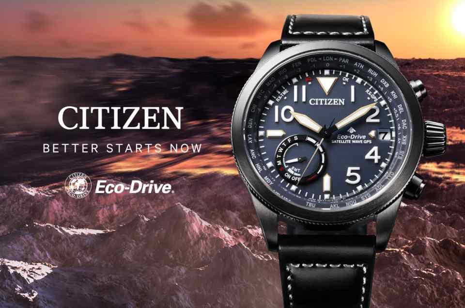 Citizen Eco-Drive Funkuhren