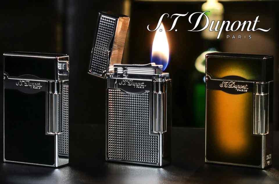 S.T. Dupont Mini & Maxijet Lighters